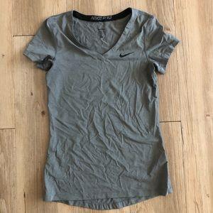 Nike Grey Dri-Fit Shirt